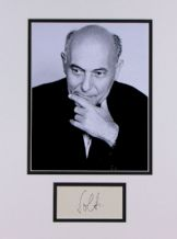 Georg Solti Autograph Signed
